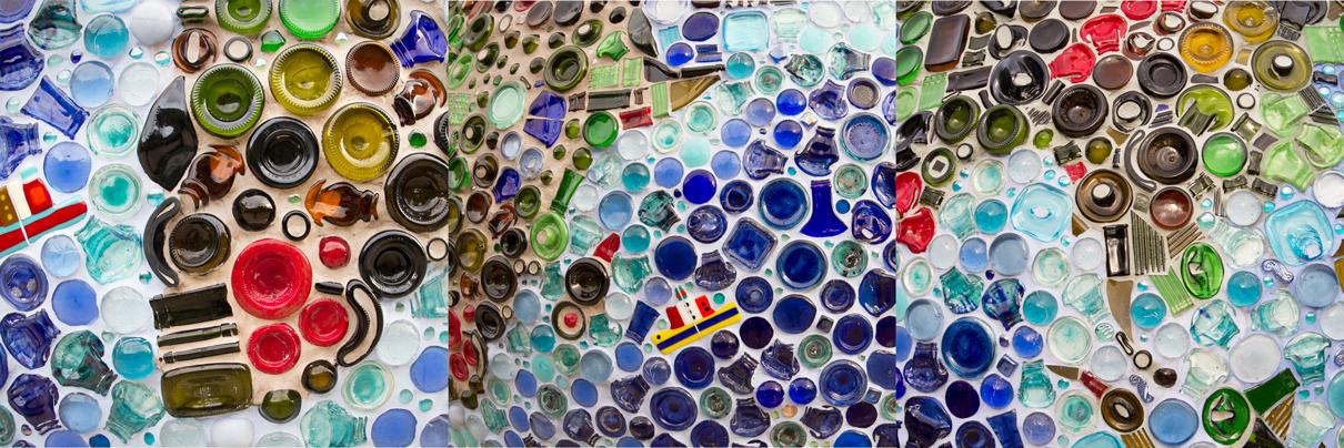 """Tierra de vidrio"" del escultor francés Henri Marque"