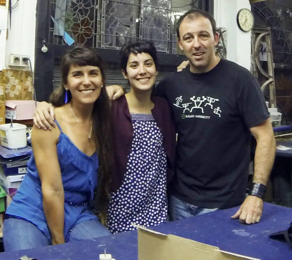Paulina Rucco, Sol Carta y Mauricio Llorach