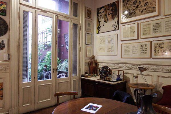 casa del artista plastico argentino Luis Felipe Yuyo Noe