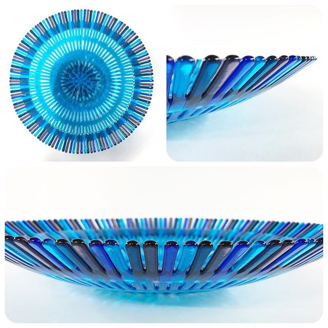 objeto de vidrio fusionado - vidrios compatibles - Bullseye glass
