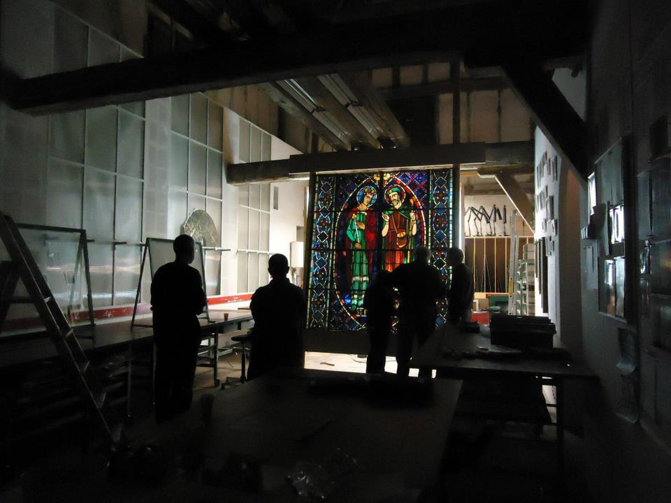 Chartres Centre Internacional du Vitral Vidriera medieval