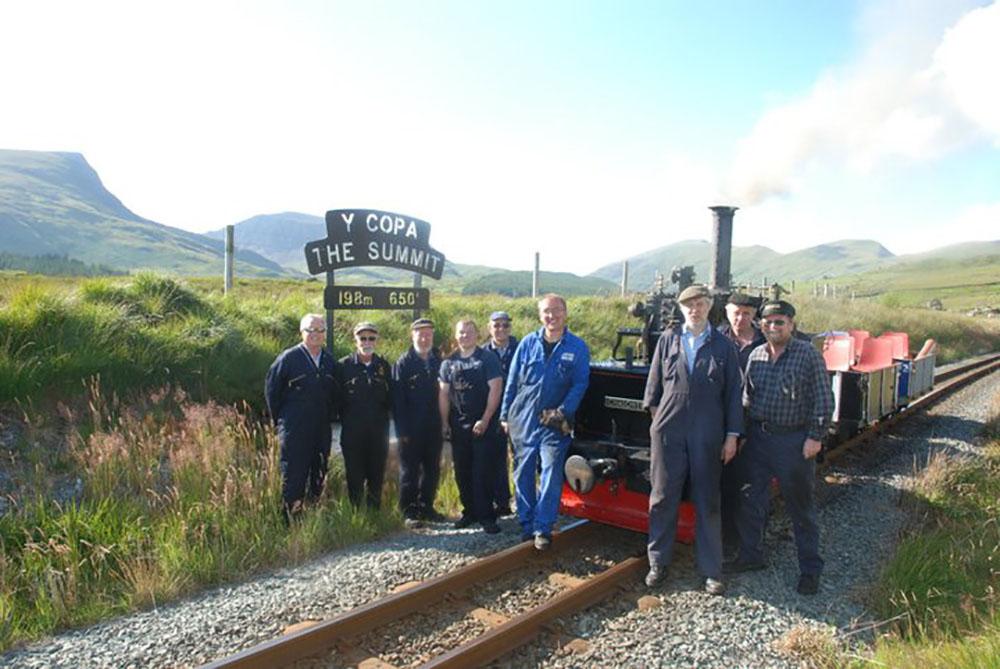 antiguo tren a vapor