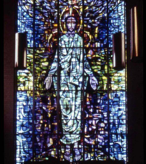 Alfred Fisher, artistas en vidrio inglés.