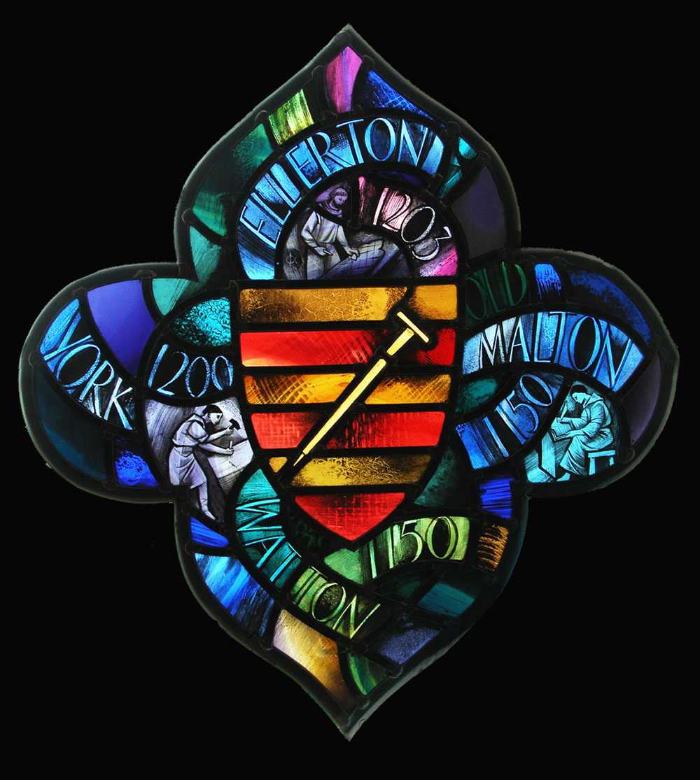Alfred Fisher glass art Stained glass UK
