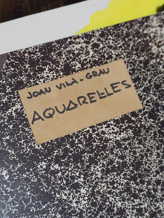Acuarelas de Joan Vila Grau