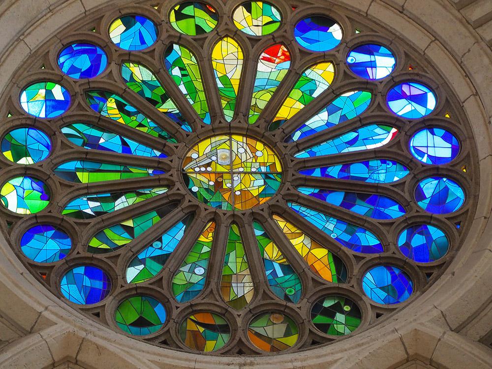 Rosetón Sagrada Familia de Barcelona