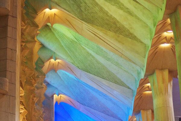 Muros de la Sagrada Familia de Barcelona