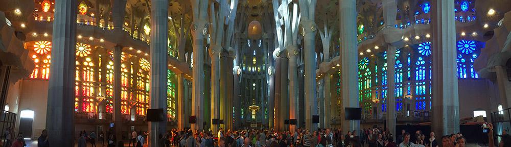 vitrales de la Sagrada Familia de Barcelona Joan Vila Grau Gaudi