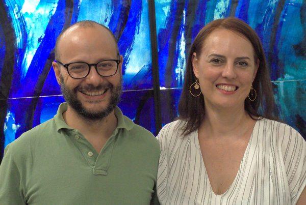 Jordi Bonet y Ma.Eugenia Diaz de Vivar