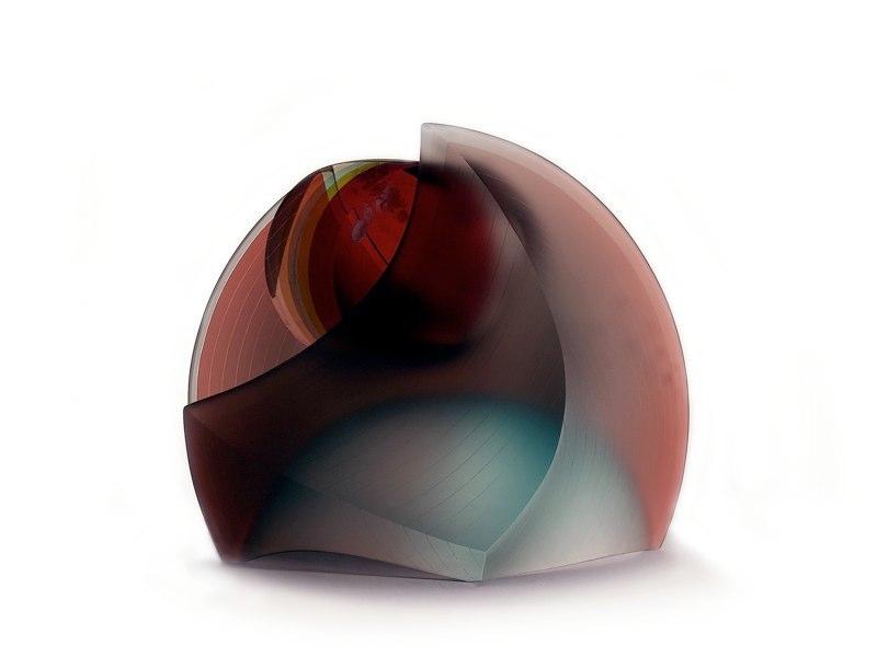 Javier Gomez escultor Glass Artist Madrid - Spain - Art