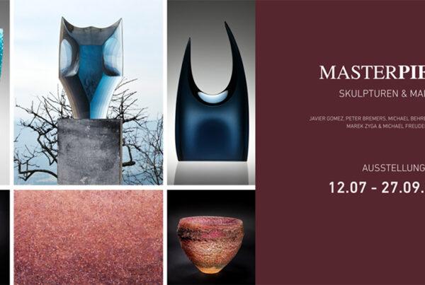 JAVIER GOMEZ, PETER BREMERS, MICHAEL BEHRENS, DEANNA CLAYTON, MAREK ZYGA & MICHAEL FREUDENBERG Continuum Gallery ART GLASS