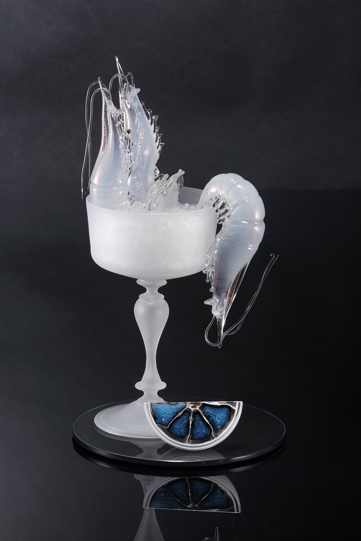 Elliot Walker glass artist Lodon Messello Contemporary glass art