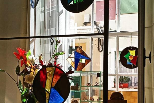 Antoni Vila Delcòs Nou47 Atelier Menorca Vitralls Vitrales Stained Glass