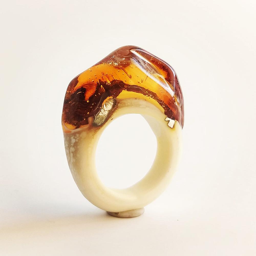 Cecilia López Bravo Objetos con Vidrio Glass Art Joyería en Vidrio Nueva York - Mendoza Urban Glass