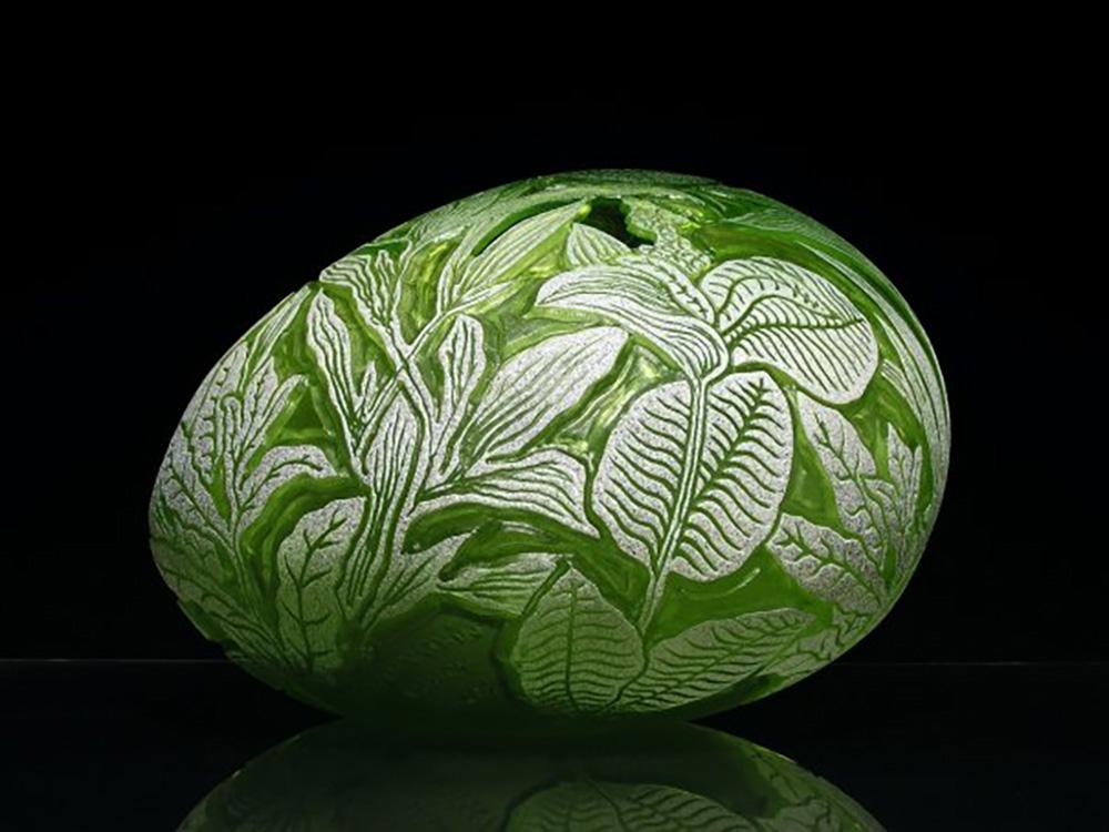 Gérald Vatrin glass art objetos con vidrio contemporary glass