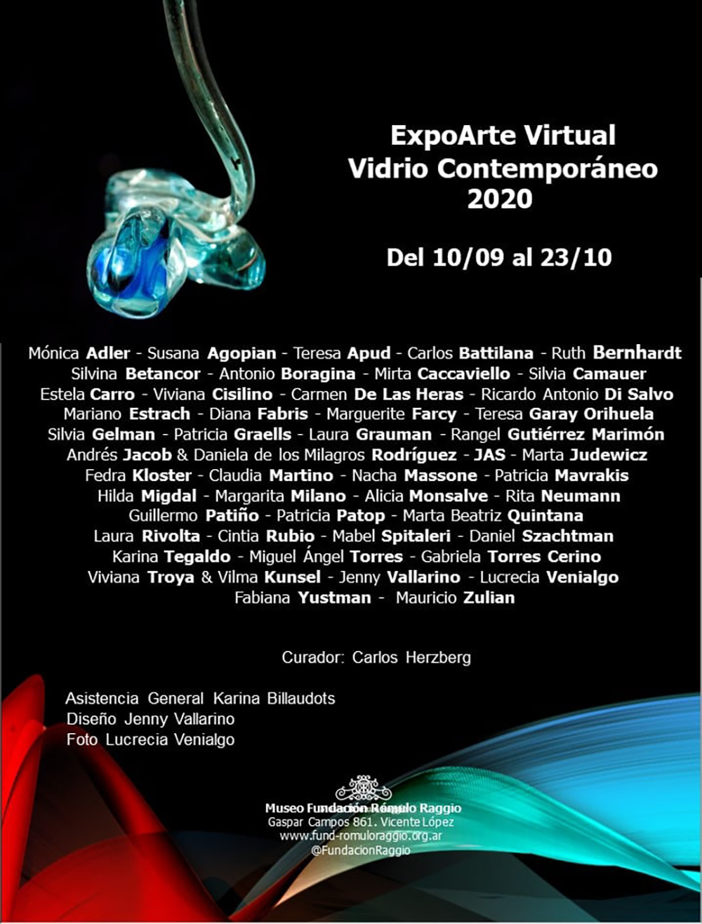 ExpoArte Virtual Vidrio Contemporáneo 2020