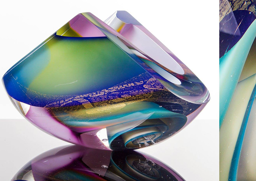 Phil Vickery Glass Escultura en vidrio Glass artist