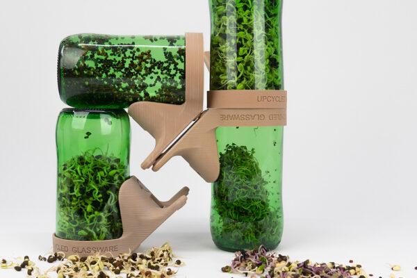 Upcycled Glassware de Tanya Reinli Objetos con Vidrio