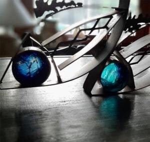 Kiskur Mariano Estrach Glass Art Objetos con Vidrio